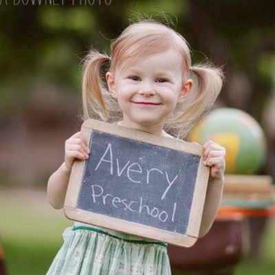 Tips for Taking Back to School Pictures