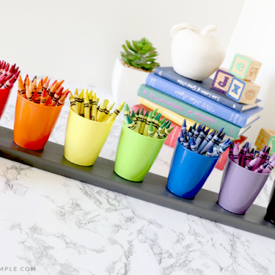 Creative Crayon Holder