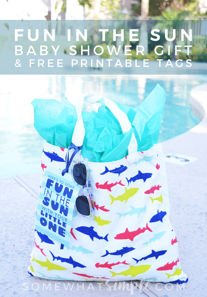 fun in the sun baby shower gift