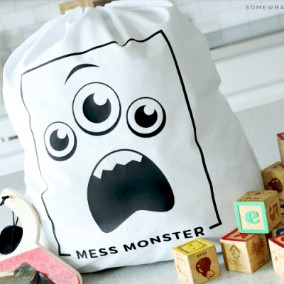 Mess Monster Toy Jail