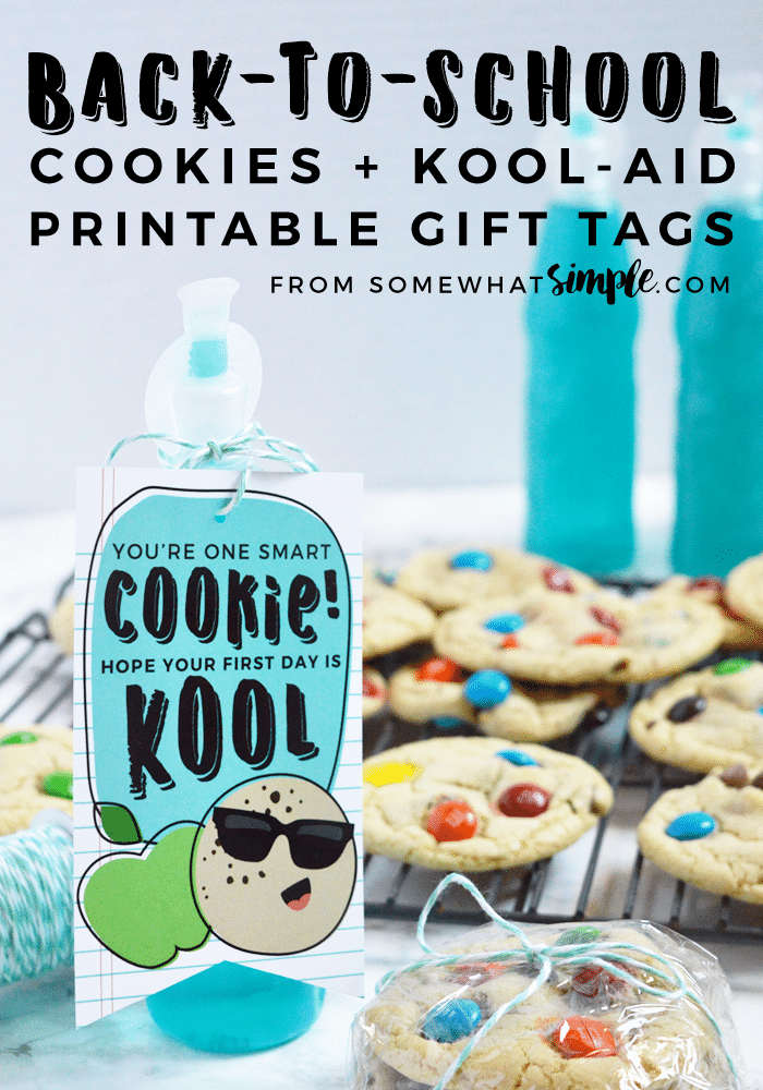 Printable Back to School GIfts for Students