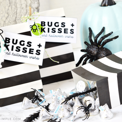 Halloween Treat Bags – Bugs and Kisses