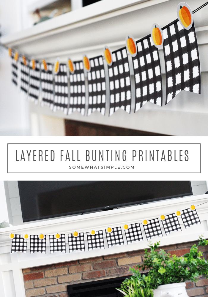 fall bunting