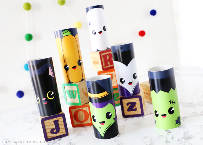 halloween toilet paper roll printables