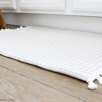 DIY Bath Mat