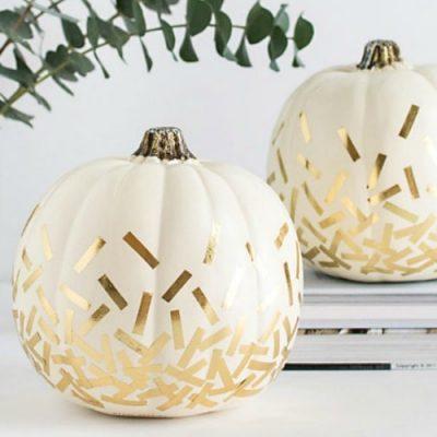 20 No-Carve Pumpkin Decorating Ideas