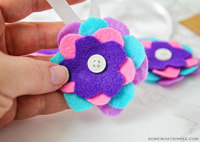 felt ornaments christmas craft for kids