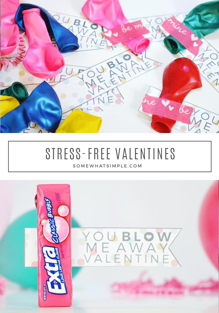 Easy Valentine Printables