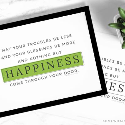 St. Patrick's Day Quote – Irish Proverb Printable