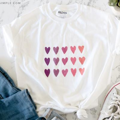 Watercolor Shirt Tutorial