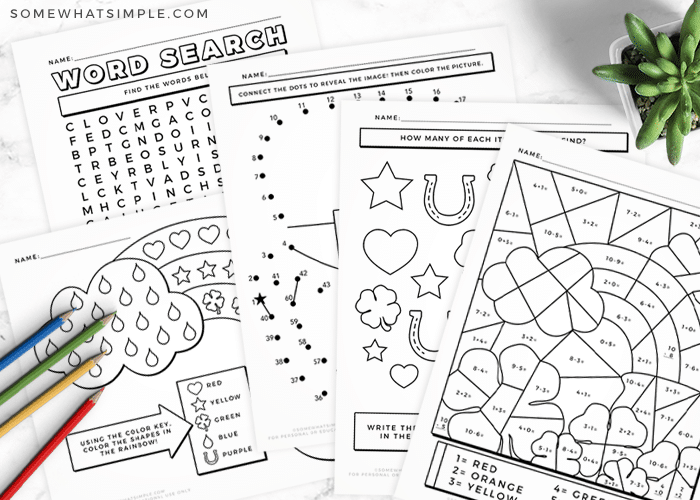 black and white copies of worksheets for teahers