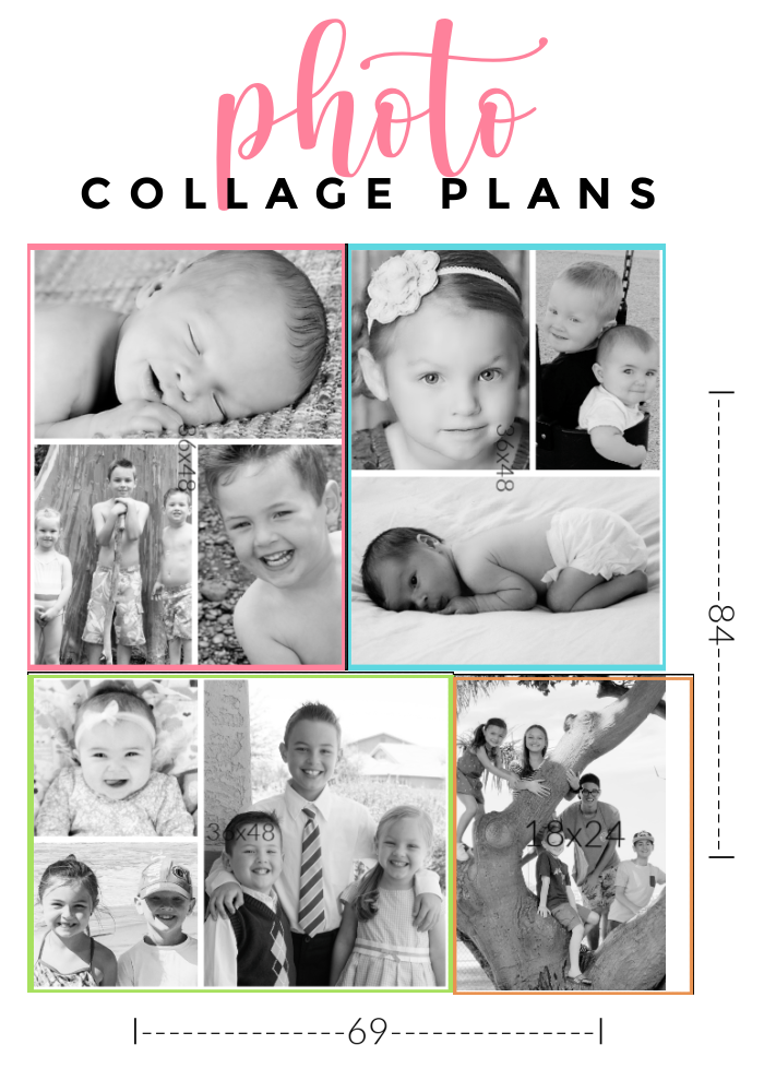how to plan for your collage