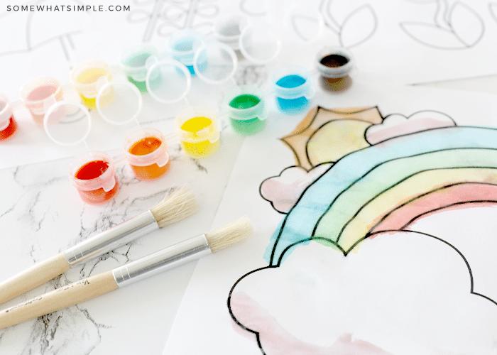 diy homemade watercolors