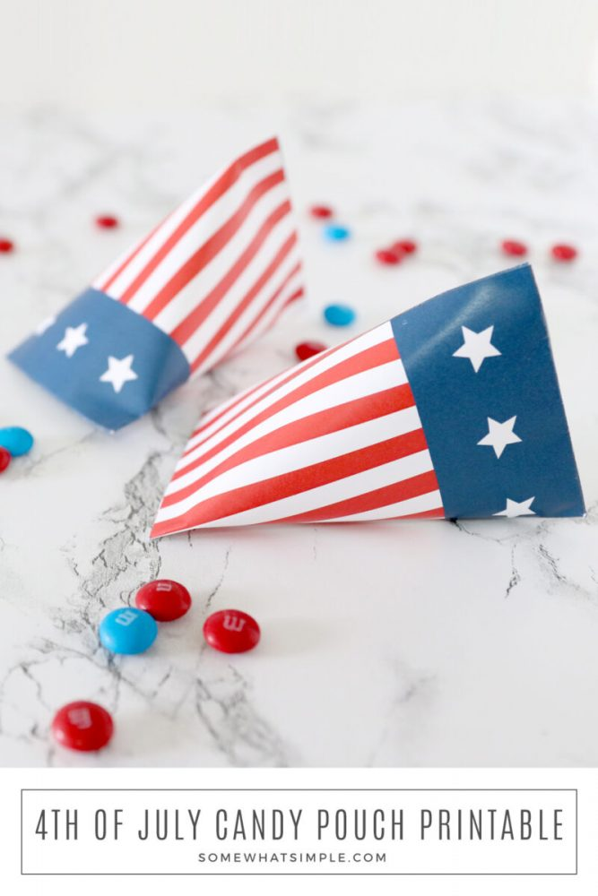 how to make a 4th of july candy gift