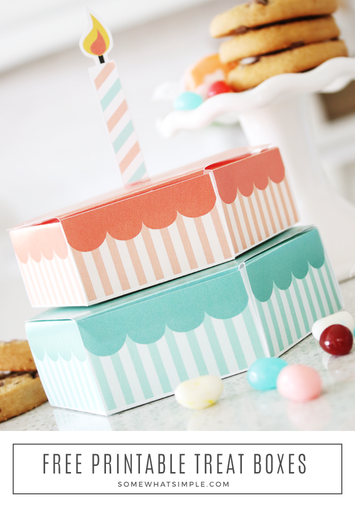 treat box made from paper