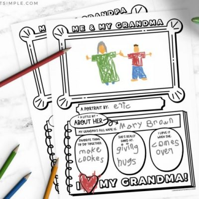 printable worksheet for grandparents day