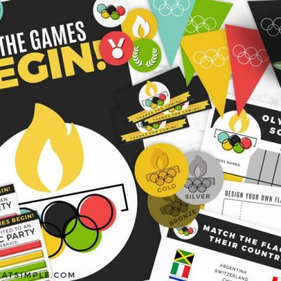 Olympic Themed Party Printables