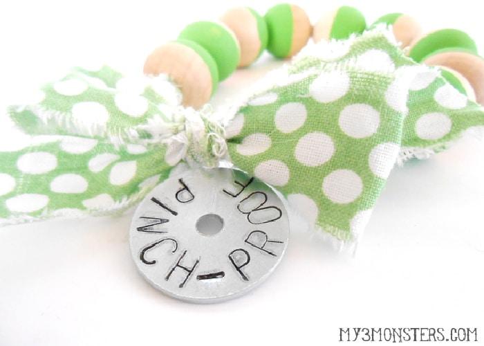pinch proof bracelet for st patricks day