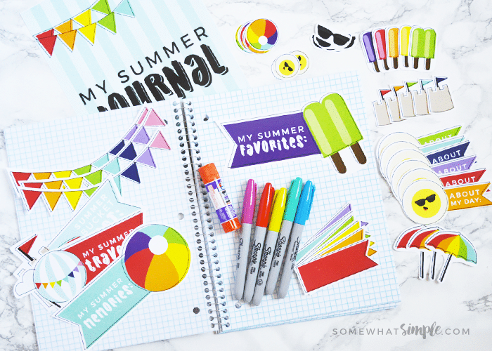 summer journal for kids