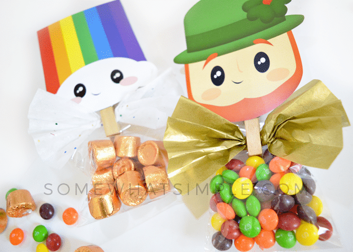 st. patrick's day treat bag toppers
